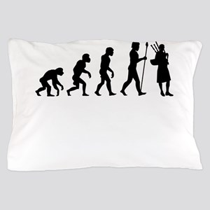 Bagpipes Evolution Pillow Case