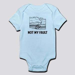 Not My Fault Body Suit