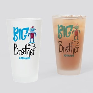 Gifts for Big Brother Personalized Drinking Glass