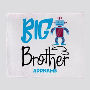 Gifts for Big Brother Personalized Throw Blanket