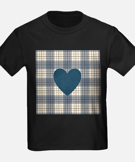 Heart on Plaid BBC T-Shirt