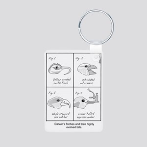Darwin's Finches Keychains