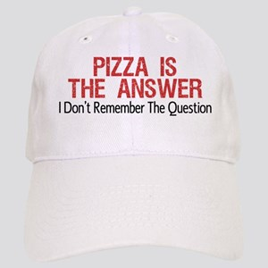 Pizza Is The Answer Baseball Cap