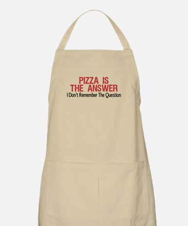 Pizza Is The Answer Apron