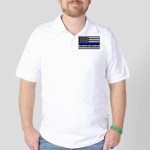 Thin Blue Line United Golf Shirt