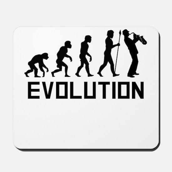 Saxophone Evolution Mousepad