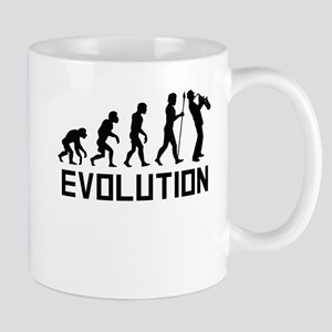 Saxophone Evolution Mugs