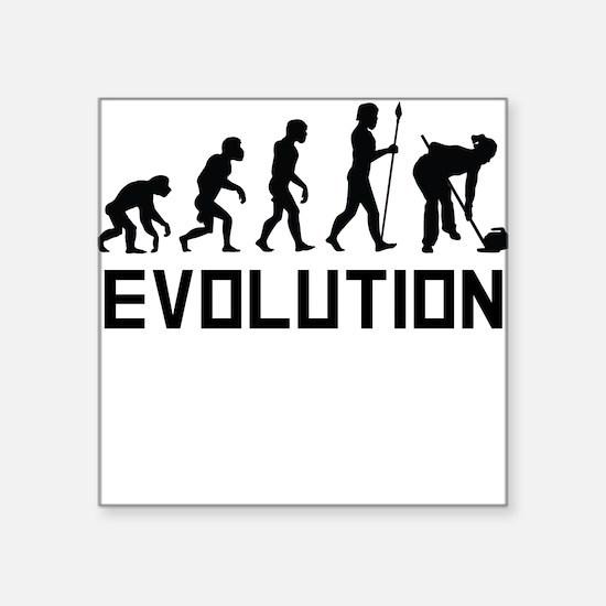 Curling Evolution Sticker