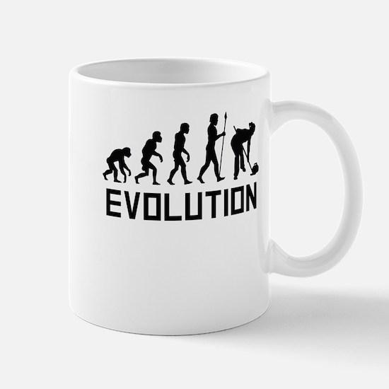 Curling Evolution Mugs