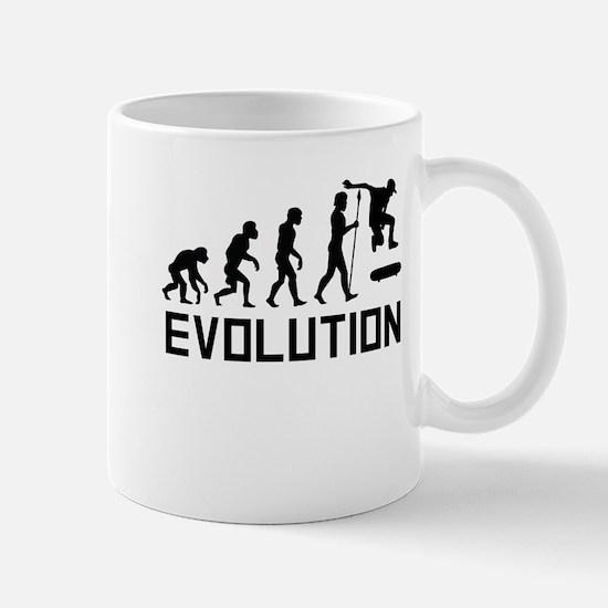 Skateboarding Evolution Mugs