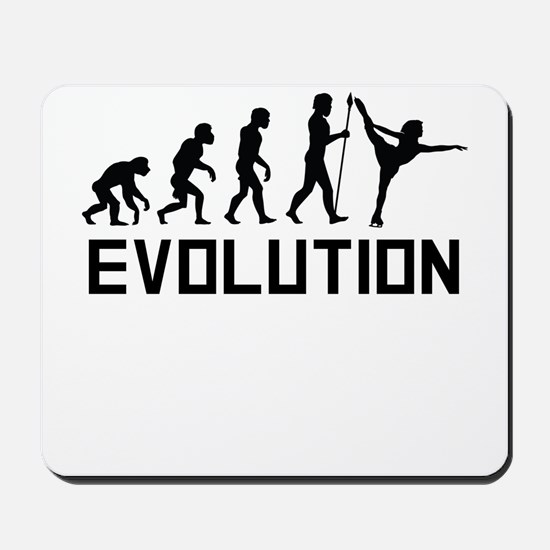 Figure Skating Evolution Mousepad