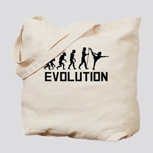 Figure Skating Evolution Tote Bag