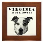 Virginia Is For Lovers Framed Tile