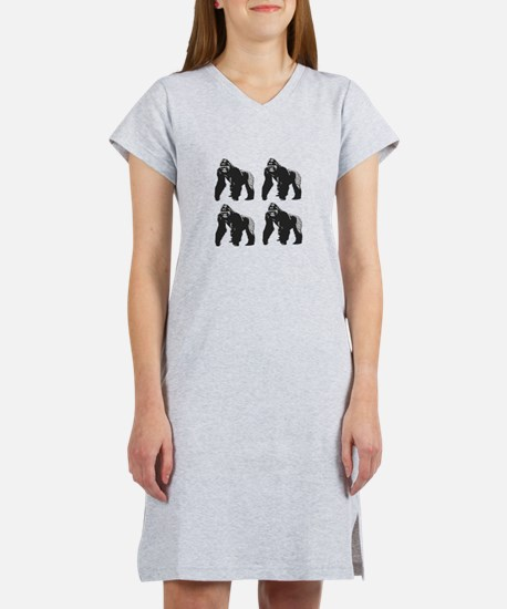 GORILLAS Women's Nightshirt