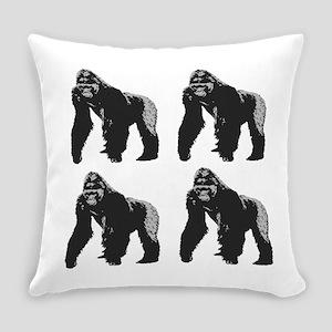 GORILLAS Everyday Pillow