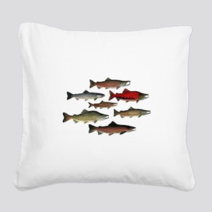SPECIES Square Canvas Pillow