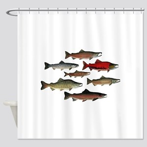 SPECIES Shower Curtain