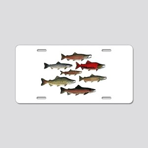 SPECIES Aluminum License Plate