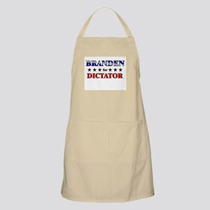 BRANDEN for dictator BBQ Apron