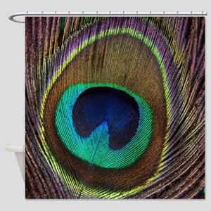 Peacock20160604 Shower Curtain