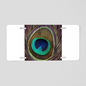 Peacock20160604 Aluminum License Plate