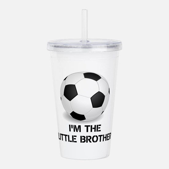 Im the little brother soccer ball Acrylic Double-w