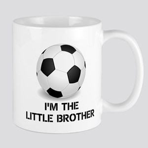 Im the little brother soccer ball Mugs