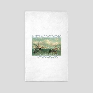 New York Harbor Area Rug