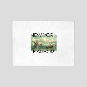 New York Harbor 5'x7'Area Rug