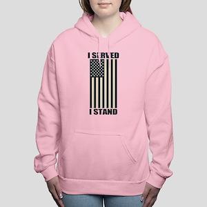 I Served I Stand Women's Hooded Sweatshirt