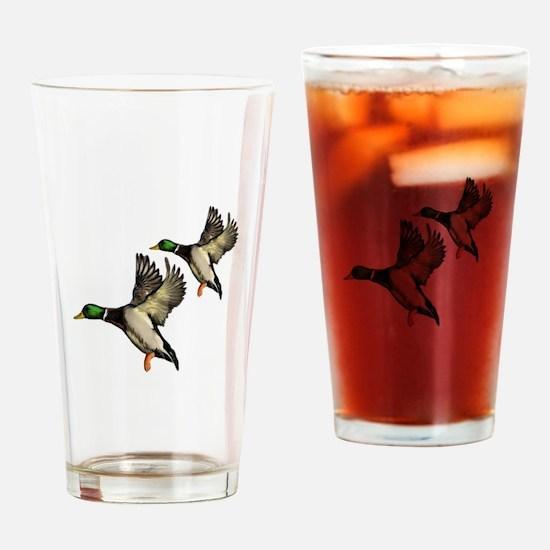 DUCKS Drinking Glass