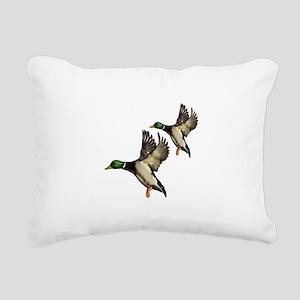 DUCKS Rectangular Canvas Pillow