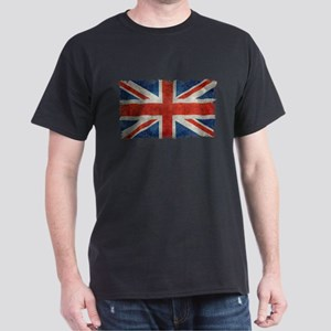 UK Union Jack flag vintage retro style T-Shirt