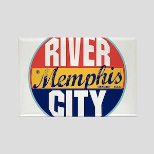 Memphis Vintage Label Magnets