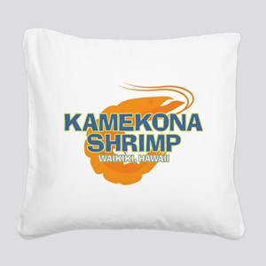 Hawaii 5-0 Kamekona Shrimp Square Canvas Pillow