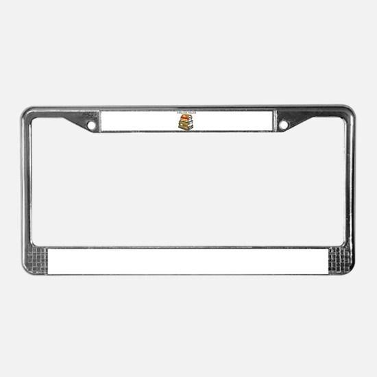 English Major License Plate Frame