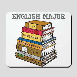 English Major Mousepad
