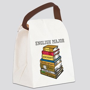 English Major Canvas Lunch Bag