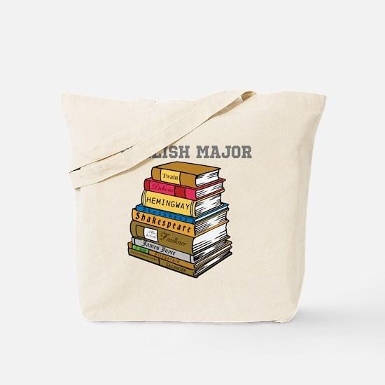 English Major Tote Bag