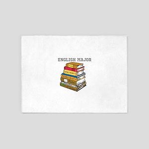English Major 5'x7'Area Rug