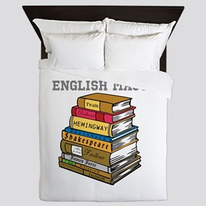 English Major Queen Duvet