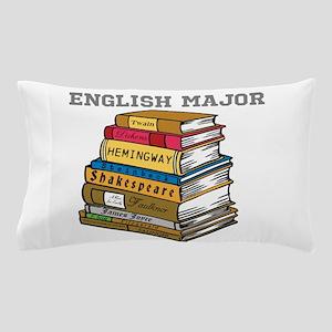 English Major Pillow Case