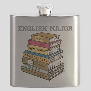English Major Flask