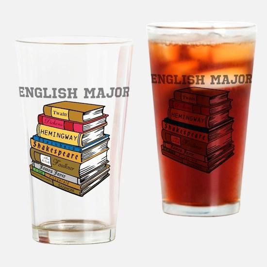 English Major Drinking Glass