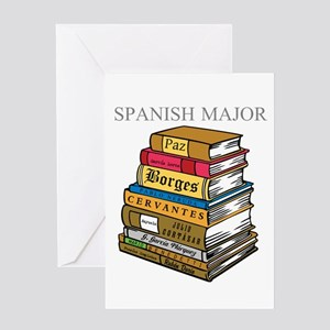 Spanish Major Greeting Card