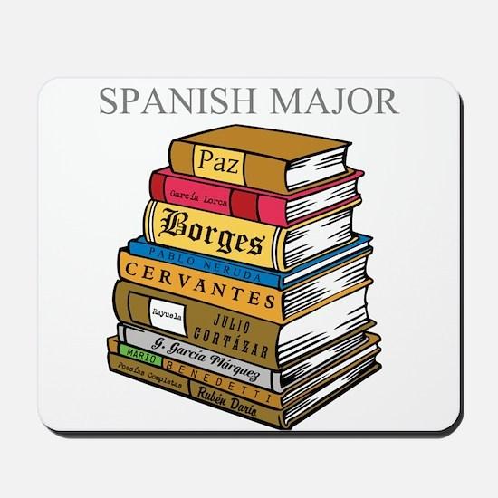 Spanish Major Mousepad
