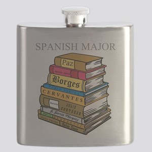 Spanish Major Flask
