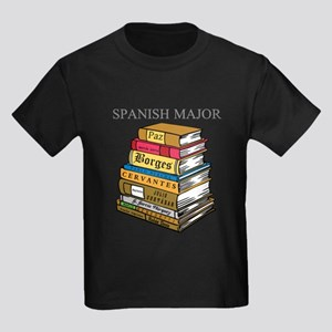 Spanish Major Kids Dark T-Shirt