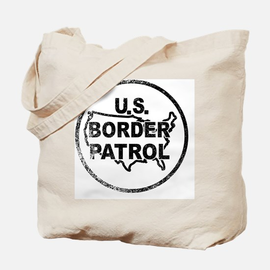 Cute Us border patrol Tote Bag