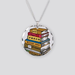 Psychology Major Necklace Circle Charm